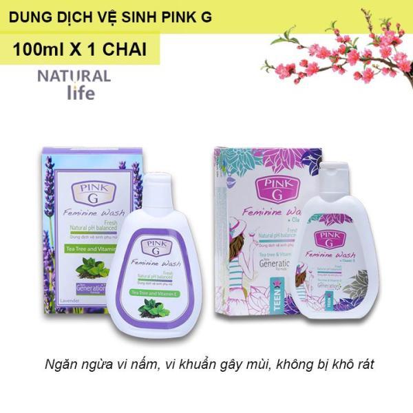 Dung dịch vệ sinh phụ nữ Pink G 100ml
