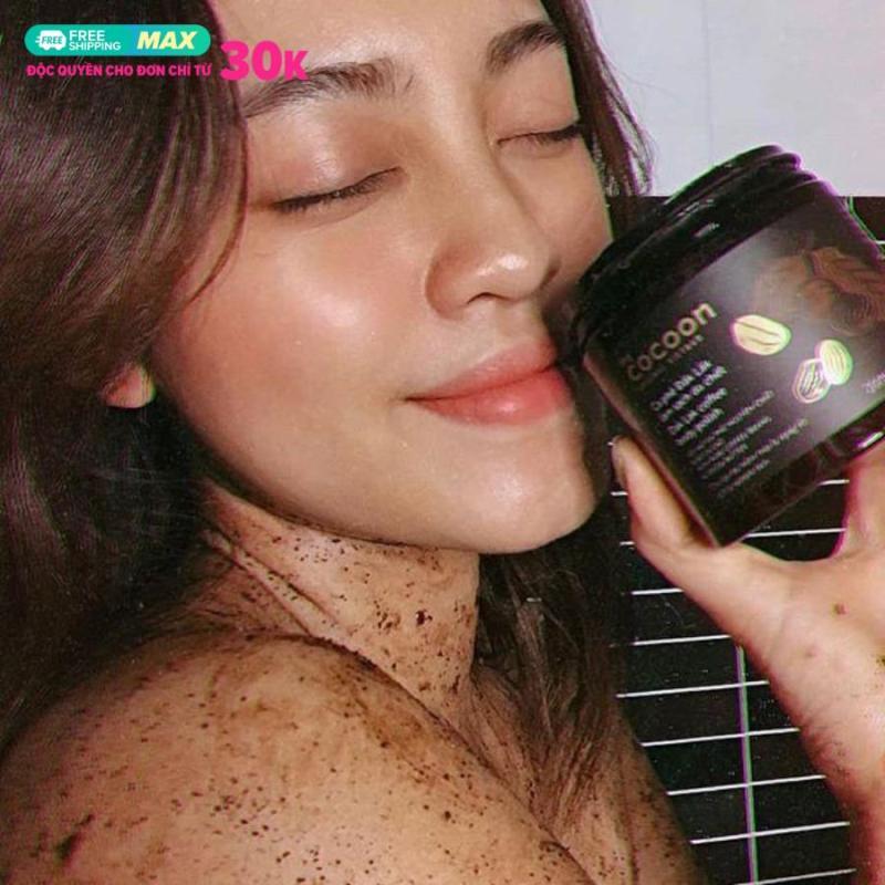 Tẩy Tế Bào Chết COCOON (Dak lak coffee body polish) Cà phê Đắk Lắk Làm Sạch Da Chết 200ml [Cocoon Vietnam]