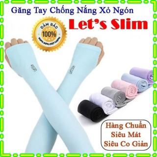Găng tay chống nắng Hàn Quốc LETS SLIM - Găng tay xỏ ngón cho Nữ thumbnail