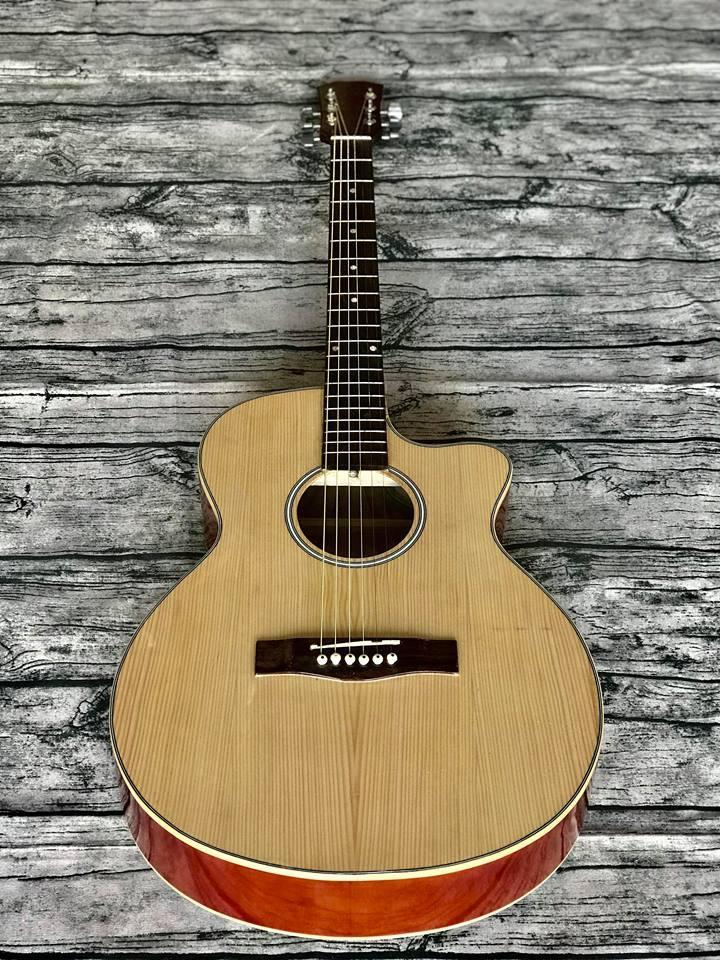 Đàn Guitar Acoustic ET-75SV Có Ty Chỉnh Cong Cần Ưu Đãi Bất Ngờ