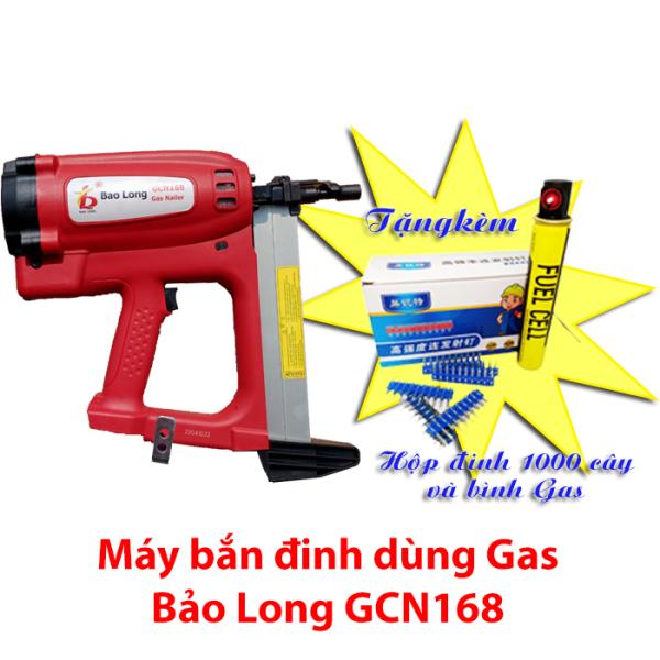 Máy bắn đinh dùng Gas Bảo Long GCN168