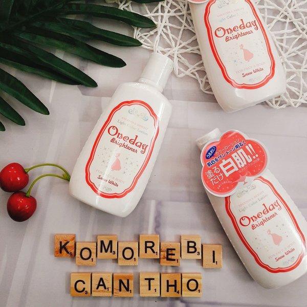 Lotion dưỡng trắng da Oneday Brightener 120ml Nhật Bản nhập khẩu