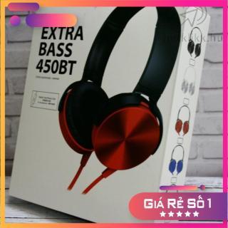 Tai nghe sony 450 chụp tai, Tai nghe chụp tai có dây nhiều màu lựa chọn, âm thanh chuẩn HD, chống nước tốt thumbnail