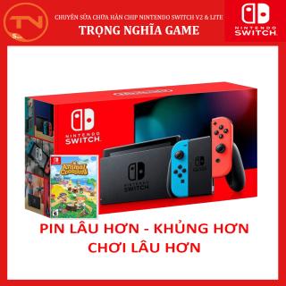 [Trả góp 0%]Máy Nintendo Switch + Game Animal Crossing + 12 tháng bảo hành +Tặng Dán Cường Lực thumbnail