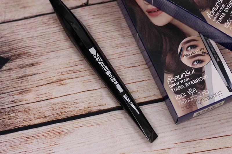 Kẻ chân mày Mistine - The Peak Tiara Eyebrow & Pencil Liner nhập khẩu
