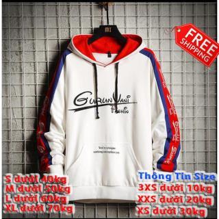 Áo hoodie thời trang thu đông,áo khoác nam nữ GuRuVani thumbnail