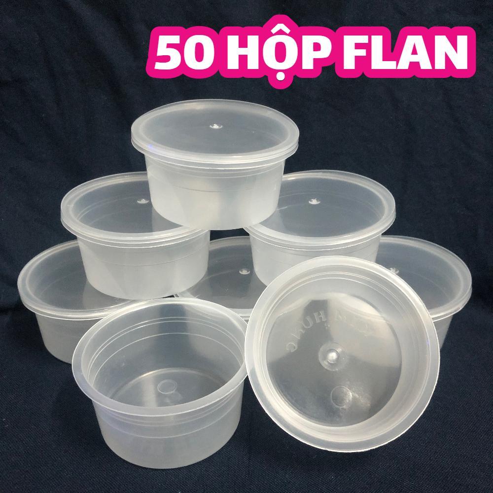 50 Hủ Nhựa Làm Bánh Flan Caramen Rau Câu Sữa Chua đựng Slime Dung Tích 75ml (hộp Flan Có Nắp) Giá Tốt Không Nên Bỏ Lỡ