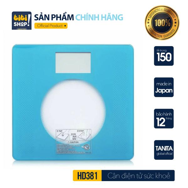 Cân sức khoẻ điện tử TANITA HD-381