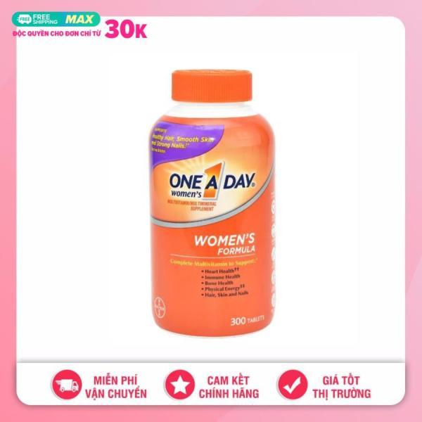 Vitamin tổng hợp dành cho phụ nữ One A Day Women's Multivitamin 300 viên date 8 /2021 giá rẻ