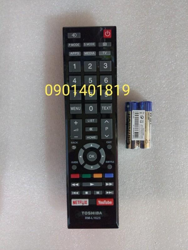 Bảng giá Điều khiển Tivi Toshiba Rm-L 1625 (Hàng hộp)