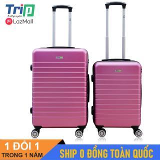[MIỄN PHÍ SHIP] Bộ 2 vali TRIP PC911 Size 20inch và 24inch Bộ 2 vali du lịch dây kéo 2 lớp chống trộm thumbnail