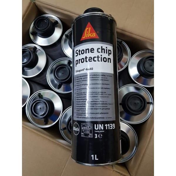 Combo 2 chai Phủ gầm ôtô cao cấp Sikagard 6440 1000ml black