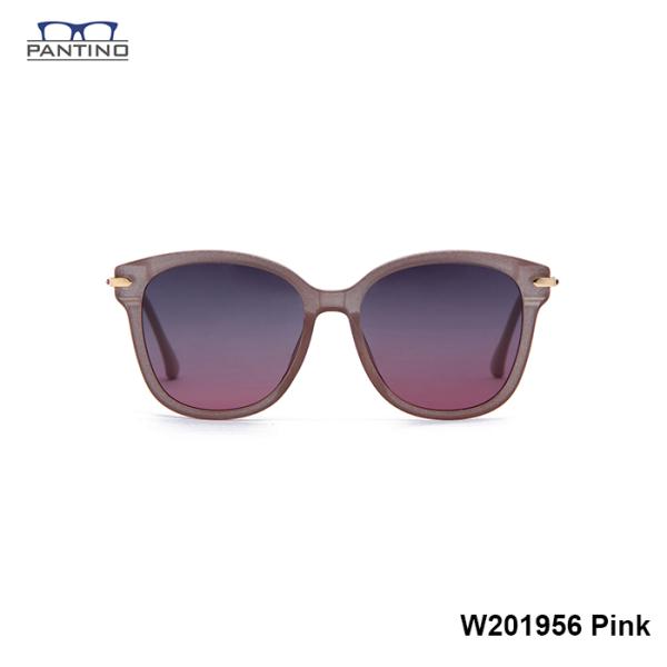 Mua Kính mắt phân cực thời trang Nữ PANTINO nhập khẩu Hàn Quốc chống tia UV, ánh sáng xanh Mã W201956 - Pink