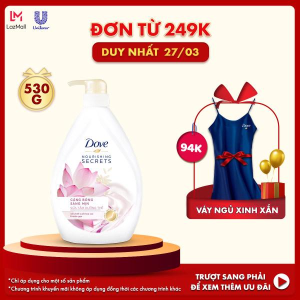 Sữa tắm Dove liệu pháp sáng mịn 530g