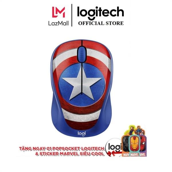Bảng giá Chuột không dây Logitech M238 Marvel Collection Phong Vũ