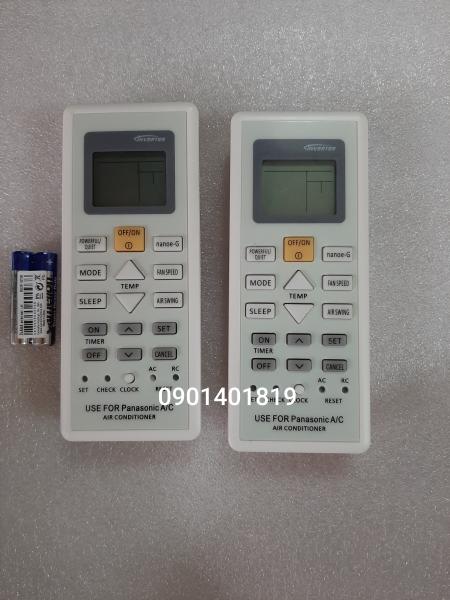 Bảng giá Điều khiển máy lạnh Panasonic nút cam