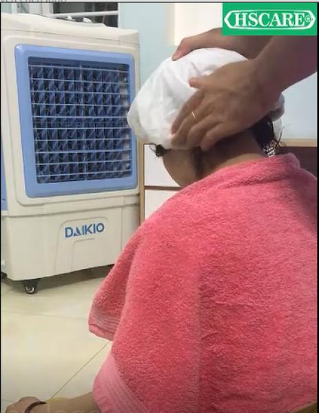 Gội đầu khô tiện lợi [SẠCH NHƯ GỘI NƯỚC] mũ gội đầu không dùng nước sạch và tiện lợi cao cấp
