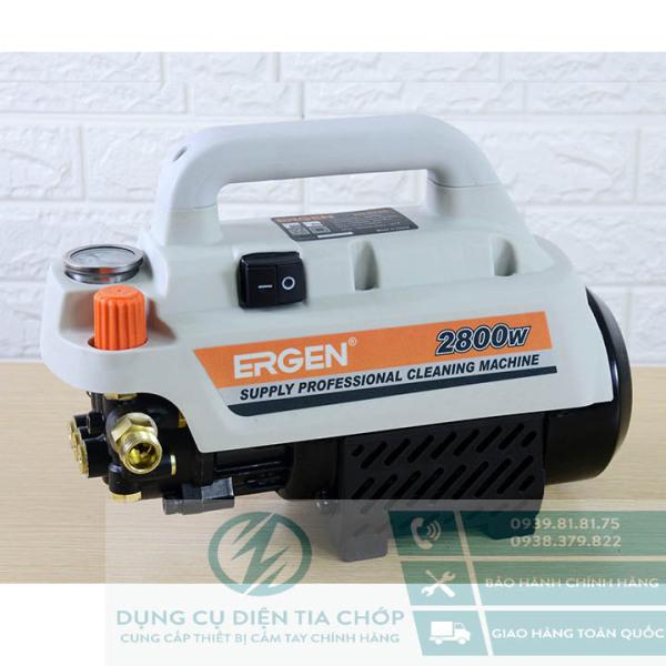 Máy xịt rửa xe Chỉnh Áp Ergen EN-6728 - 2800W - xịt rửa máy lạnh - điều hòa