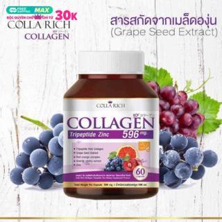 Viên uống Collagen Colla Rich Trẻ Hóa Da thumbnail