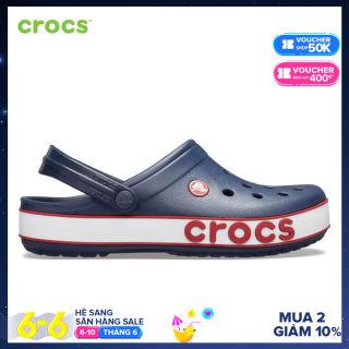CROCS Giày Clog Unisex Crocband Bold Logo 206021