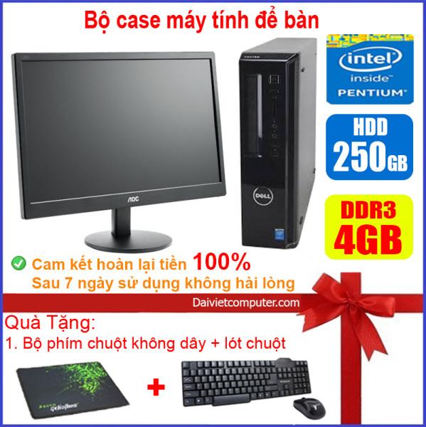 Bảng giá Bộ case máy tính để bàn DEL CPU Dual core E5xxx / G2010 Ram 4GB / HDD 250GB-500GB / SSD 120GB-240GB + Màn hinh + [QUÀ TẶNG] - LDV Phong Vũ