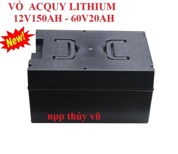 Vỏ bình acquy lithium 12v150Ah - 60V20AH