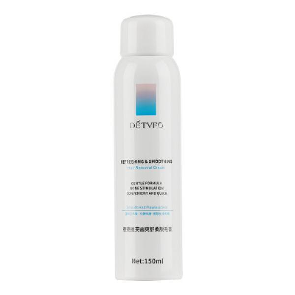 Chai tẩy lông dạng xịt DetvFo 150ML - an toàn không gây kích ứng da.