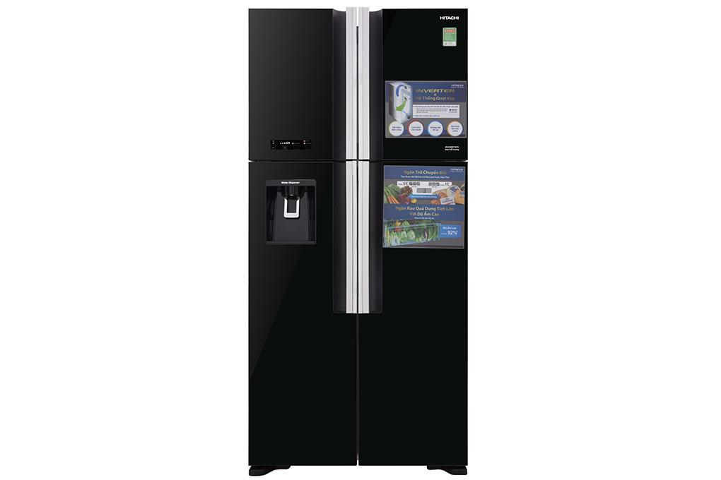 Tủ lạnh Hitachi 540L Inverter R-FW690PGV7X-GBK