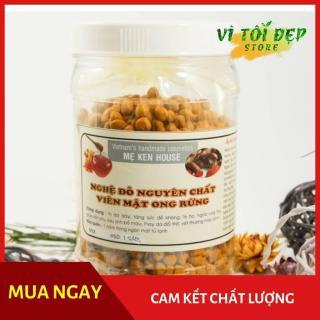 Nghệ đỏ nguyên chất viên mật ong rừng Mẹ Ken 500 gr thumbnail