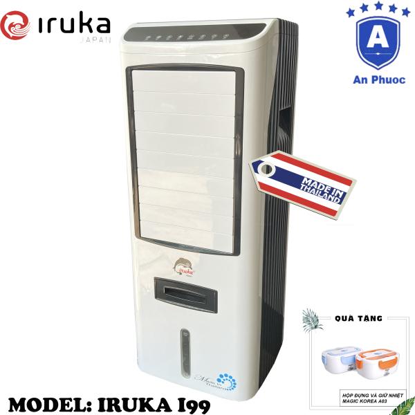 Bảng giá Quạt hơi nước làm lạnh không khí Iruka I99 Made In Thái Lan | Công suất 200W | Màn hình cảm ứng có remote điều khiển | BH 12 Tháng Tại Điện Máy LACI | Tặng Hộp Giữ Nhiệt Magic A03
