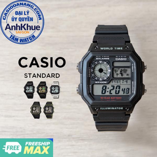 Đồng hồ nam Casio Standard chính hãng Anh Khuê AE-1200 Series