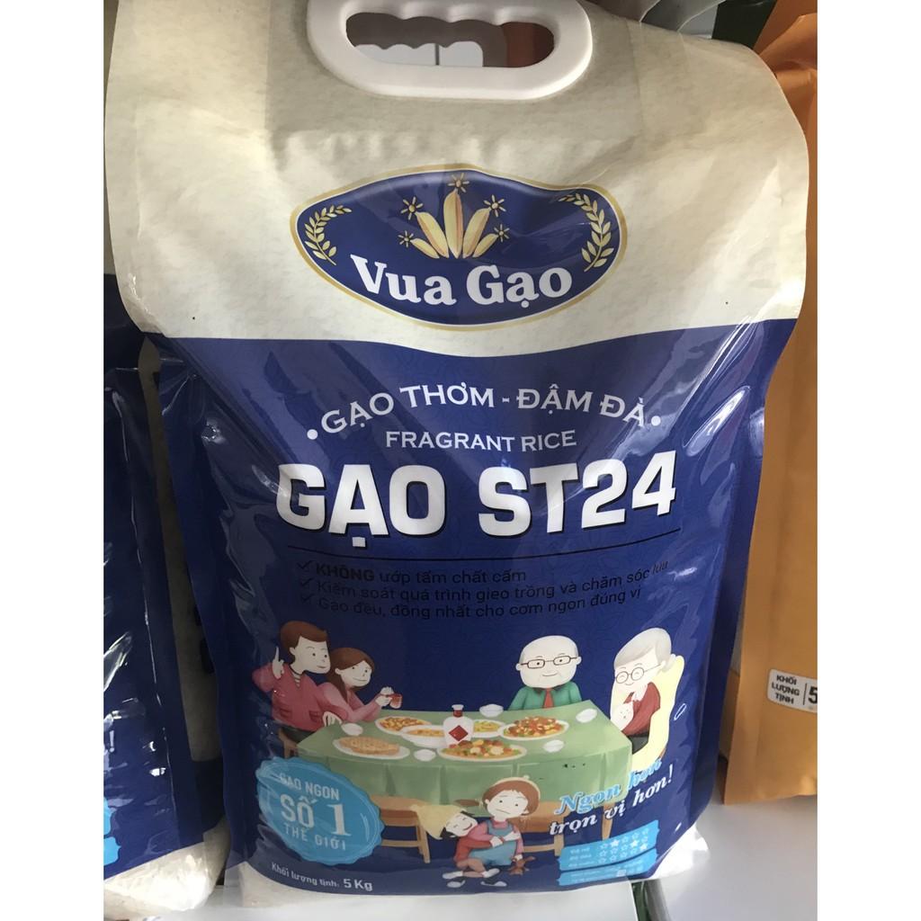 Gạo Thơm Vua Gạo Đậm Đà ST24 - Túi 5kg