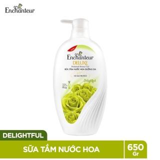 Sữa tắm nước hoa dưỡng da Enchanteur Delightful 650g thumbnail