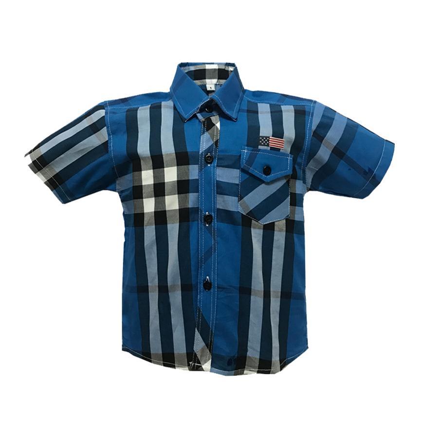 Áo Sơ Mi Trẻ Em Tay Ngắn Chất Liệu Vải Mềm Mịn Thoáng Mát Bền đẹp Thích Hợp đi Chơi Dã Ngoại Cho Bé Trai Từ 1 đến 8 Tuổi Thương Hiệu M&T Không Thể Rẻ Hơn tại Lazada