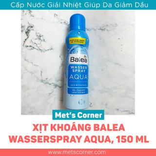 Xịt Khoáng Balea Wasserspray Aqua, cấp nước và giải nhiệt, da giảm dầu thumbnail