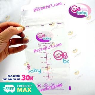 Hộp 50 Túi trữ sữa GB baby 250ml tặng kèm bút ghi thông tin thumbnail