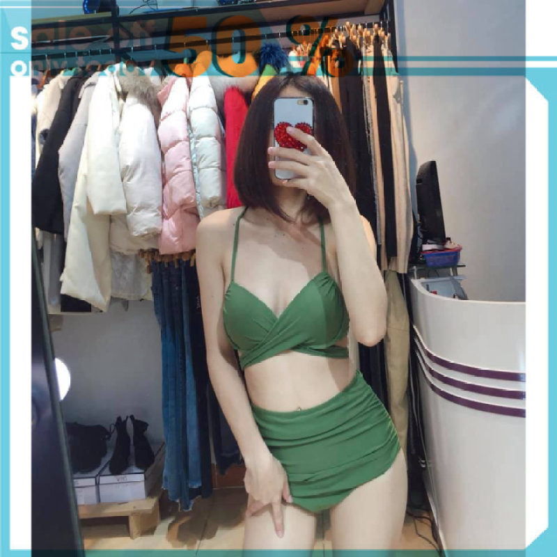 Nơi bán Bikini 2 Mảnh chéo rêu ( Ảnh chụp thật)