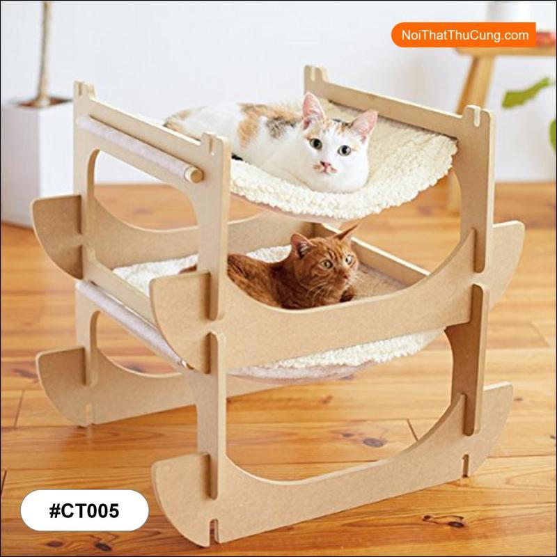 Giường Ngủ Cực Kì Dễ Thương Cho Mèo Yêu CT005