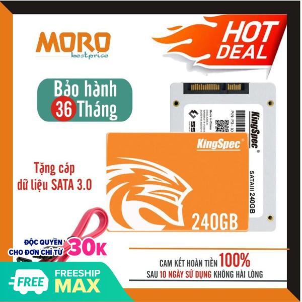 Bảng giá Ổ cứng SSD Kingspec 240GB - Bảo hành chính hãng 36 tháng Phong Vũ