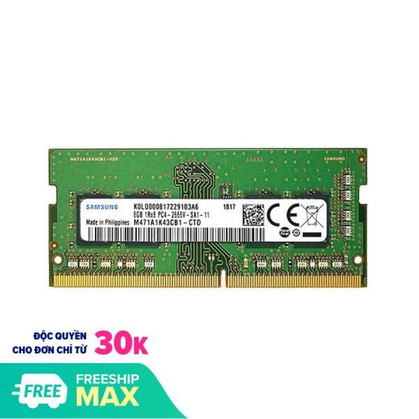 Bảng giá RAM Laptop Samsung 8GB DDR3L bus 1600 - Chính Hãng Samsung - Bảo Hành 3 năm (1 đổi 1) Phong Vũ