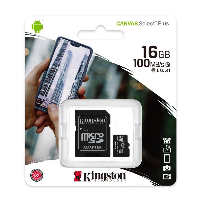 Thẻ nhớ MicroSD Kingston 64GB Class 10