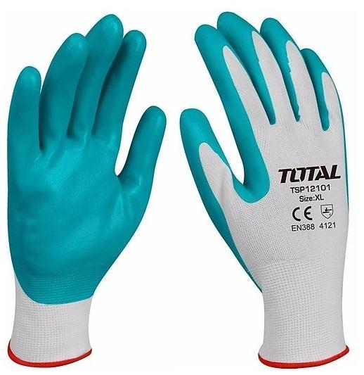 GĂNG TAY NITRI bảo vệ an toan trong môi trường hóa chất Total TSP12101
