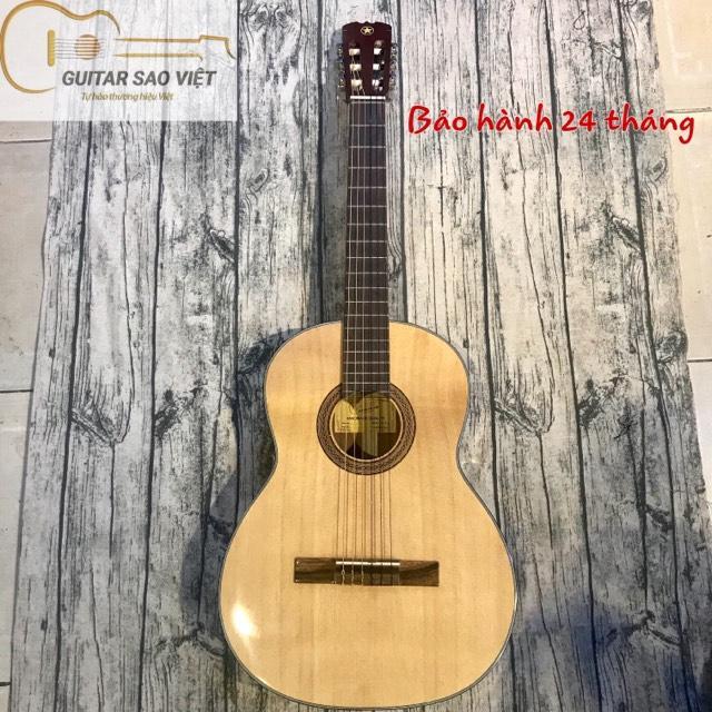 Đàn guitar classic gỗ hồng đào nguyên tấm (Bảo hành 24 tháng)