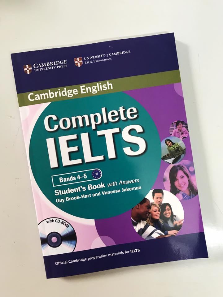Mua COMPLETE IETLS bands 4-5 (Students book)