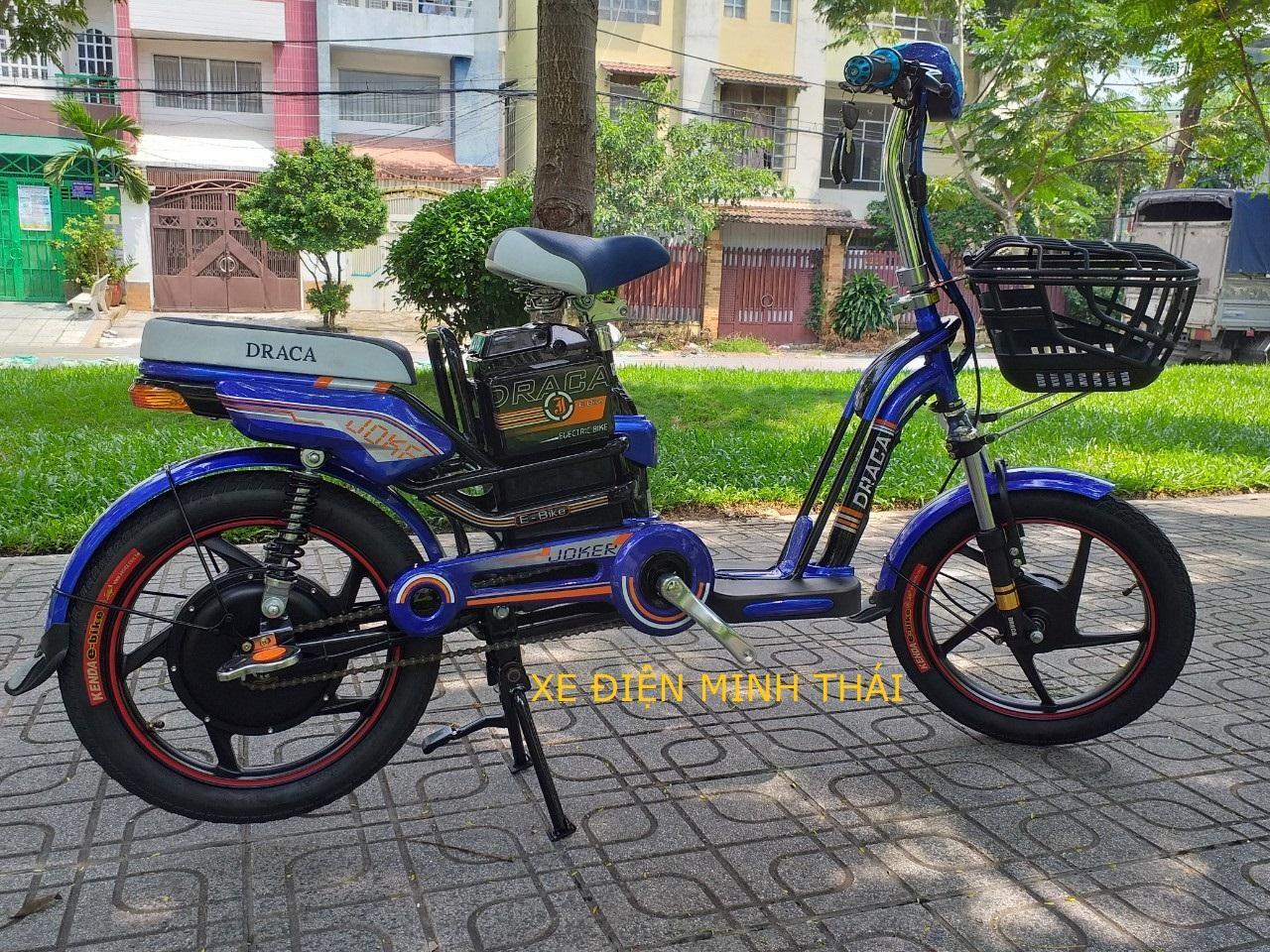 Mua xe đạp điện hiệu DRACA mẫu JOKER giá tốt- xe điện DRACA- xe máy điện draca mẫu mới