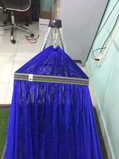 Bộ võng xếp BAN MAI Khung Inox VIP+ Lưới võng thép dày 9.2 thumbnail