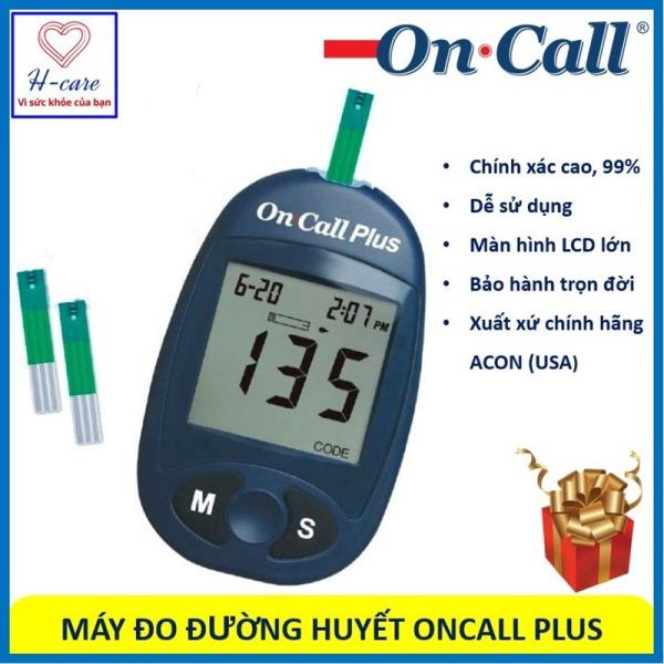 Nơi bán Máy thử đường huyết, dung cụ đo tiểu đường nhanh, chính xác chất lượng cao giá rẻ On Call Plus hãng ACON (USA) [TBYT H-Care]