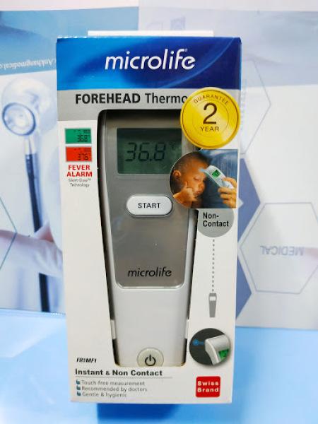 nhiệt kế điện tử hồng ngoại microlife - Nhập khẩu Thụy Sĩ bán chạy