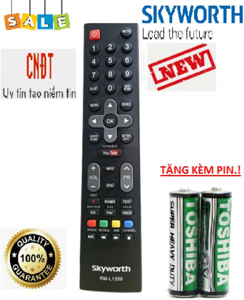 Bảng giá Remote điều khiển Tivi Skyworth RM-L1159-Hàng tốt-Mới 100%-Tặng kèm PIN