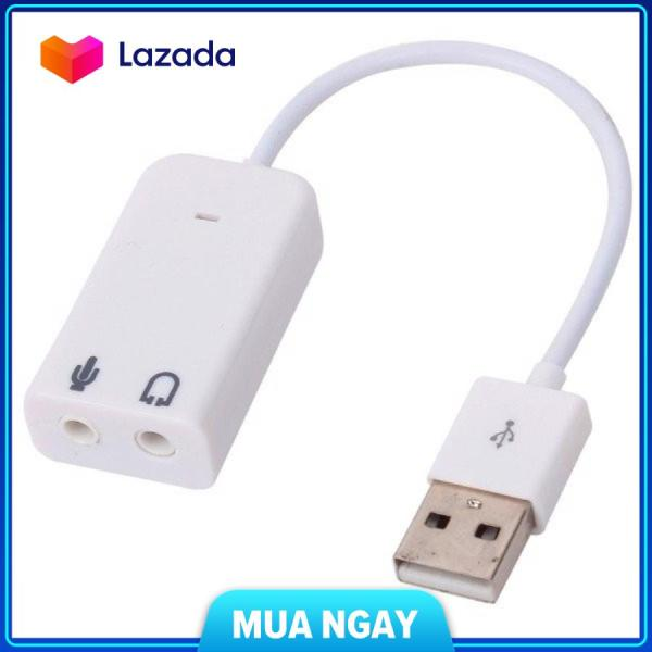 Bảng giá USB Sound Adapter 7.1 có dây Phong Vũ